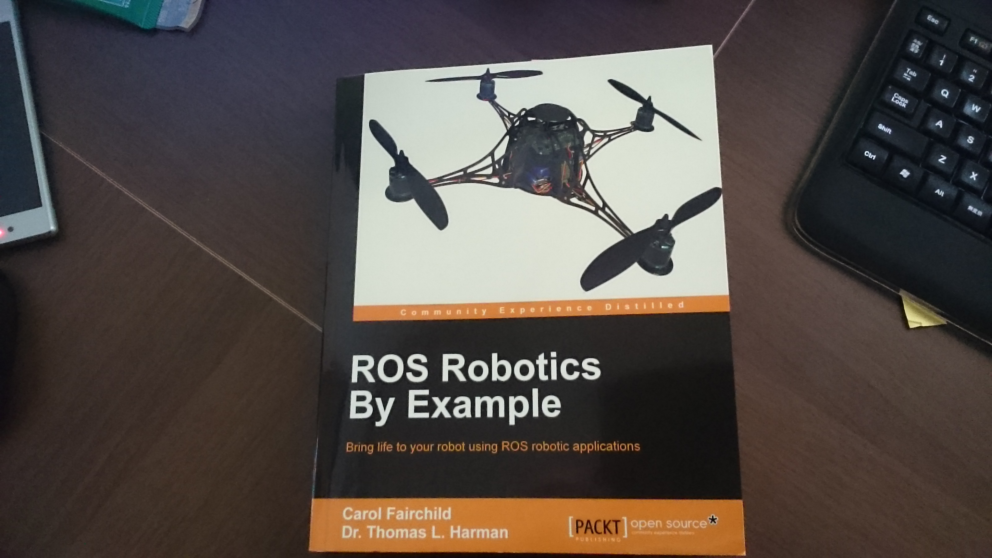 ROS RObotics by Exsmple